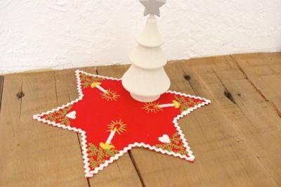 スウェーデンの星のヴィンテージドイリー