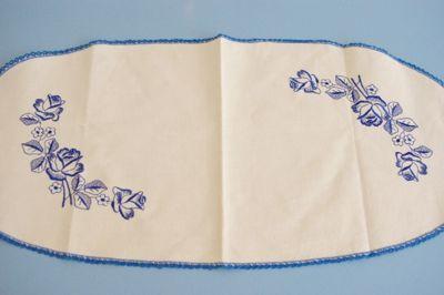 ドイツ ヴィンテージ クロス レトロ 刺繍 ファブリック ハンドメイド