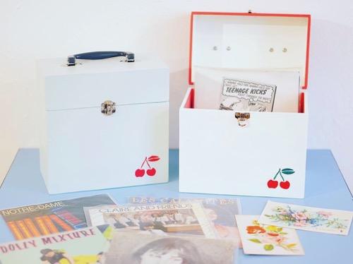 レコードケース,木製,7インチケース,レコードバッグ,通販,東京,かわいい,レコード,雑貨,下高井戸,世田谷線,インディポップ