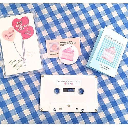 twee grrrls club,mix tape,cassette,カセット,インディポップ,レコード,東京,下高井戸