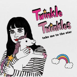 twinkletwinkles,CD,riko,イラスト,litenbutiken,購入,通販,ステッカー,東京,インディポップ,通販